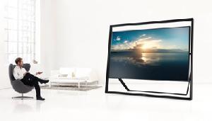 4k-Fernseher mit zwei Metern Diagonale