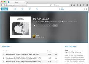 ECM-Alben jetzt bei Streaming-Diensten