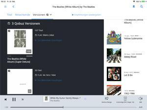 Roon-Software jetzt auch mit Qobuz